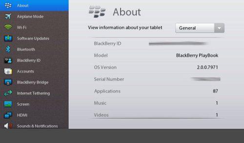 PlayBook OS 2.0 ya está entre nosotros