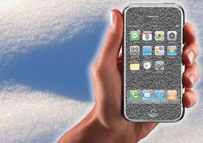 Recuerda que los iPhone no están hechos para temperaturas bajo cero