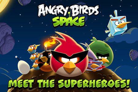 Angry Birds Space logra 10 millones de descargas en 3 días