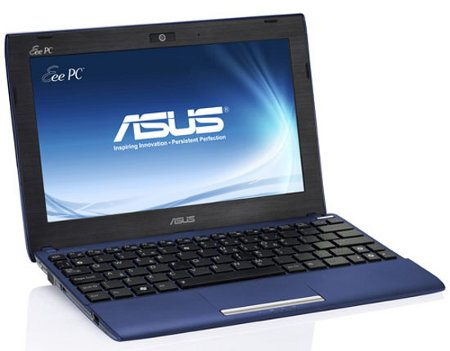 Asus Eee PC 1025 Flare, nueva netbook presentada