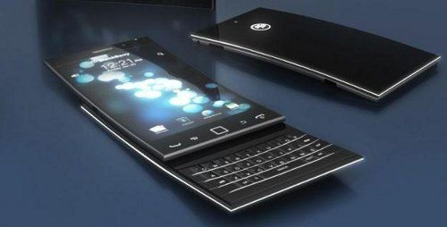 BlackBerry Blade, un móvil conceptual muy llamativo y poderoso
