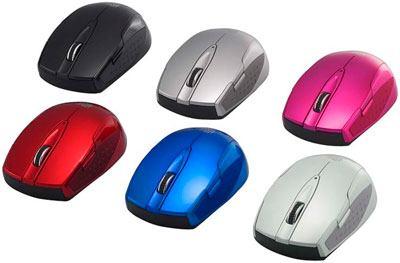 Buffalo SRMB05, un mouse inalámbrico de bonitos colores