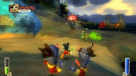 Epic Mickey The Power of Illusion para 3DS