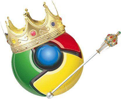 Google Chrome se transforma en el navegador más popular por un día