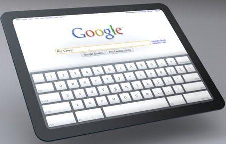Google lanzaría su tablet en mayo