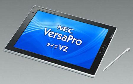 NEC VersaPro VZ, nuevo tablet de negocios de 12,1 pulgadas