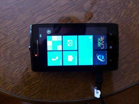 Sony Ericsson Windows Phone tiene un prototipo en eBay
