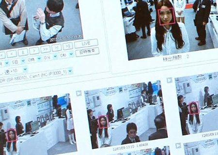 Una cámara de vigilancia escanea 36 millones de rostros por segundo