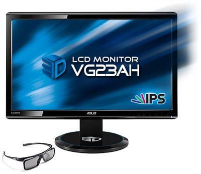 ASUS VG23AH, nuevo monitor 3D de 23 pulgadas