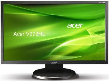 Acer V273HL, nuevo monitor LCD de 27 pulgadas a la venta en Europa
