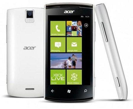 Acer W11, nuevo smartphone dual-core con Windows Phone 8