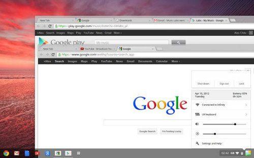 El nuevo Chrome OS es una combinación entre Windows y OS X2