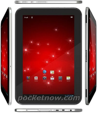 Imagen del tablet Google Nexus