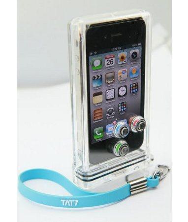 La carcasa TAT7 iPhone Scuba Case convierte a tu iPhone en un smartphone sumergible