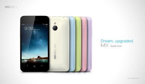MEIZU MX, el primer smartphone con procesador Exynos A9 quad-core