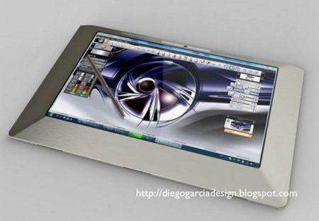 Mira el tablet conceptual Windows 8 de Toshiba