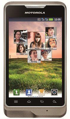 Motorola XT390, nuevo smartphone Android Gingerbread con dual-SIM