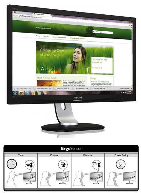 Philips ErgoSensor, un monitor para prevenir dolores de espalda