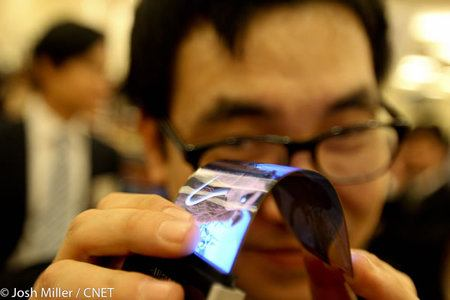 Samsung Youm, la nueva pantalla AMOLED super fina y flexible