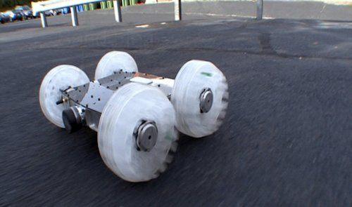 Sand Flea, un robot que hace saltos de 9 metros