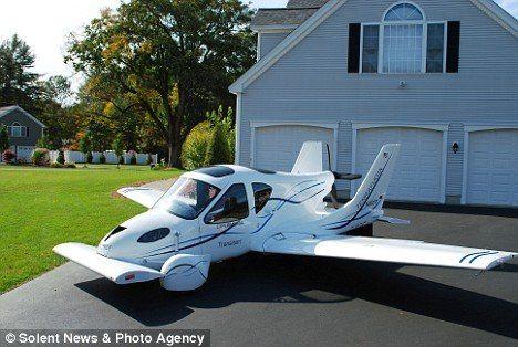 Transition, el auto volador de Terrafugia