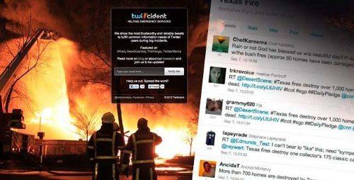 Twiticident, la aplicación que usa Twitter para infomar sobre emergencias