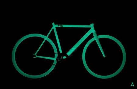 8Bar presenta una nueva bicicleta que brilla en la oscuridad