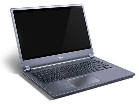 Acer Aspire M5 ya está a la venta