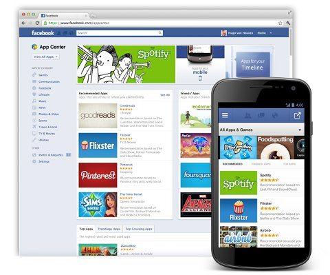 App Center, la tienda de aplicaciones de Facebook