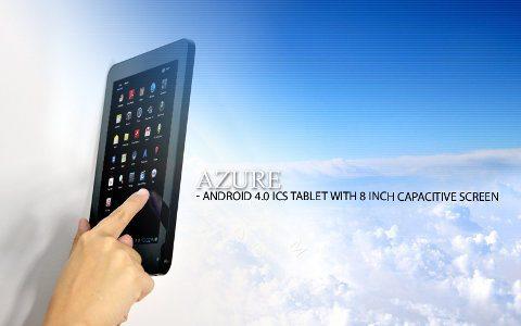 Azure, un nuevo tablet Android 4.0 a bajo precio