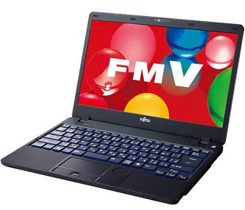 Fujitsu Lifebook SH, las laptops más delgadas del mundo con unidad óptica