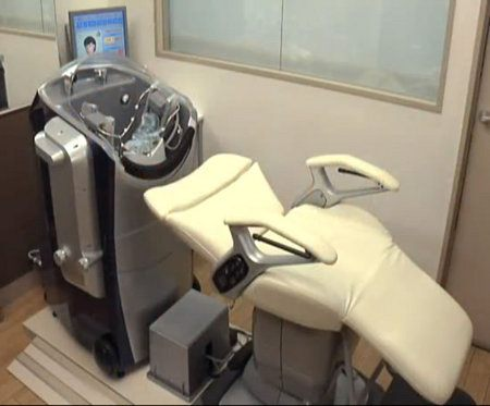 Head Care Robot, hora de que una máquina nos lave el cabello