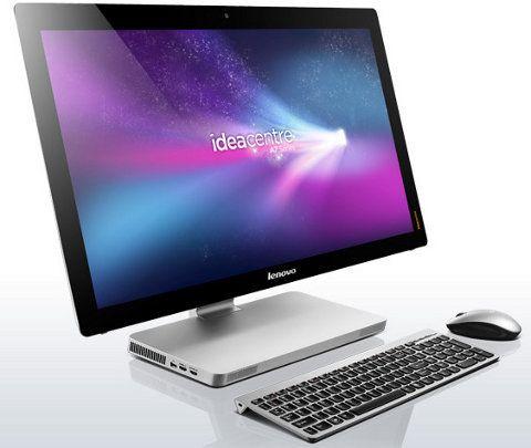 Lenovo IdeaCentre A720, una espectacular todo en uno con pantalla multitouch