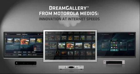 Motorola DreamGallery, nueva plataforma para TVs con Internet