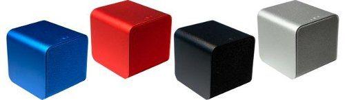 NuForce Cube, pequeños parlantes de 2 pulgadas