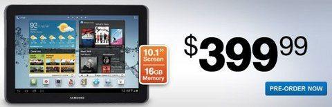 Samsung Galaxy Tab 2 10.1 disponible para pre-ordenar