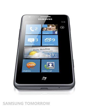 Samsung Omnia M, un smartphone Windows Phone de gama media anunciad para Europa