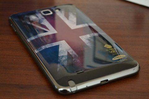 Samsung presenta el Galaxy Note Olympic Edition