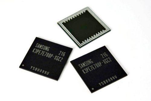 Samsung revela nuevos chips de memoria los smartphones contarán con 2GB de RAM