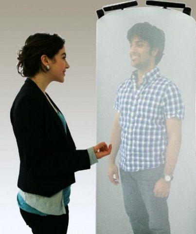 TeleHuman: es la hora de las teleconferencias con hologramas 3D