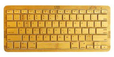 iZen, nuevo teclado Bluetooth hecho de bambú