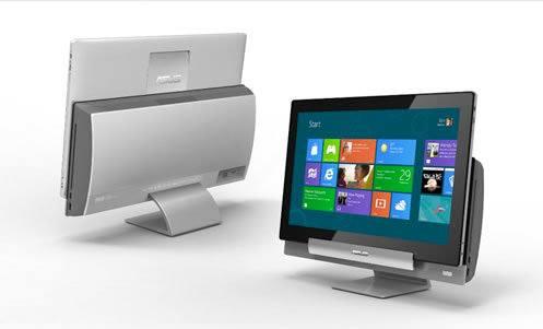 Asus Transformer AiO, nueva todo en uno con interfaz Metro y Windows 8 que puede ser usada como tablet
