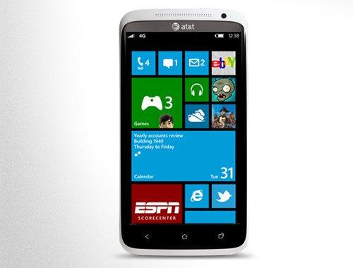 Detalles de los smartphones HTC que usarán Windows Phone 8