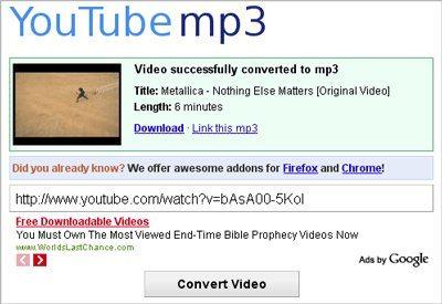Google no quiere que se siga extrayendo la música de YouTube