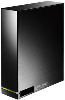 I-O Data HDL-A3.0, nuevo disco duro externo con conexión LAN