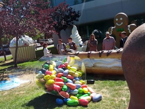 Jelly Bean ya cuenta con su propia estatua2