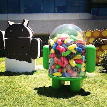 Jelly Bean ya cuenta con su propia estatua1