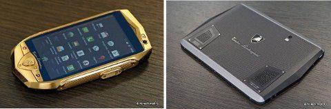 Lamborghini presenta su smartphone y tablet Android