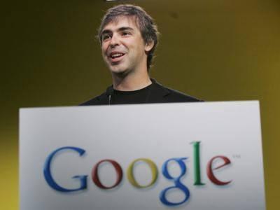 Larry Page pierde su voz y no estará presente en la google