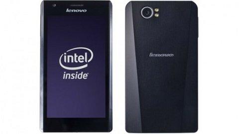 Lenovo LePhone K800, uno de los primeros smartphones con procesador Intel Medfield